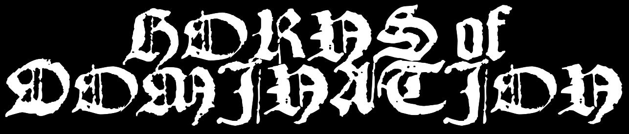 Horns Of Domination Logo Font